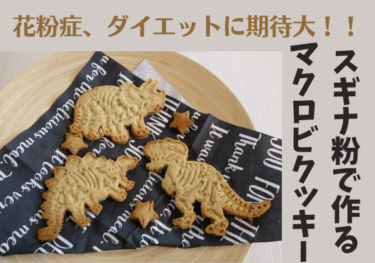 花粉症、ダイエットに期待大!?【スギナ】マクロビクッキーの作り方